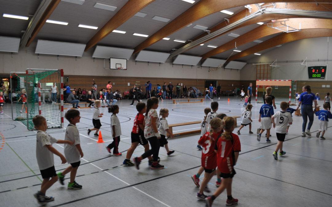 Tag des Handballs am 17.08.2019 in der Peterberghalle Braunshausen