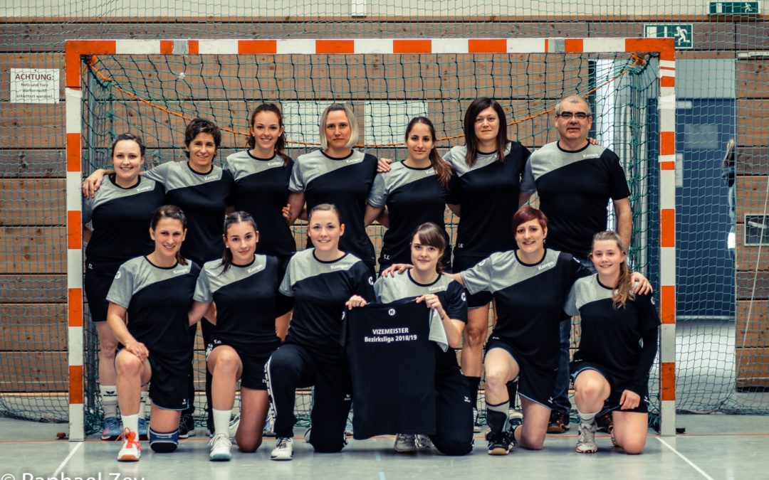 Vizemeisterschaft unserer 1. Handball-Frauenmannschaft