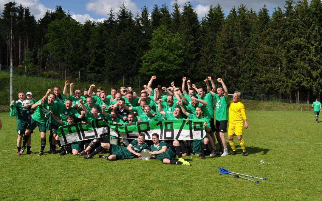 Meisterschaft der 1. Fußballmannschaft der SG Peterberg